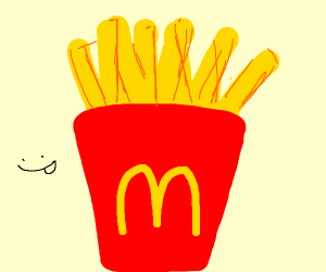 Those irresistible golden fries