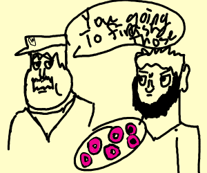 I NEED TO GET RID OF THESE DONUTS!