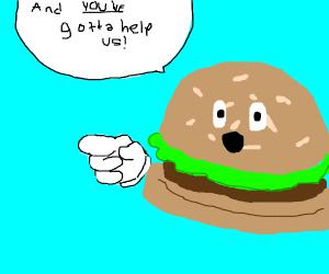 hamburger needs help