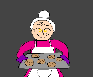 granny made cookies
