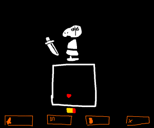 Mad Dummy fight (Undertale)