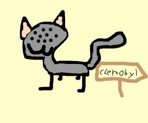 An alien cat!