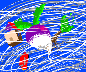 Turnip in a Hurricane