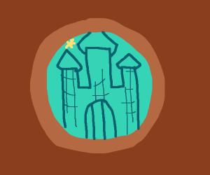 Disney, castle of cookie