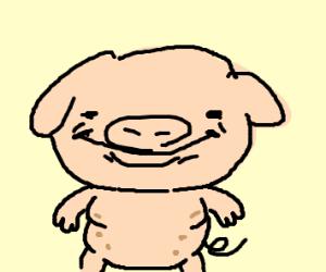 Adorable lil piggy
