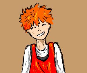 volleyball anime boy