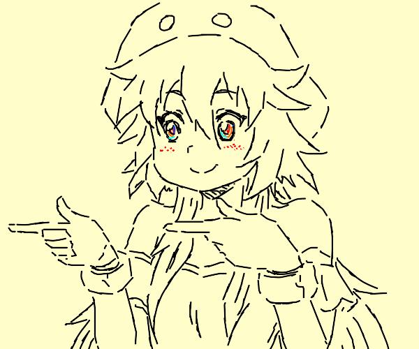 Anime finger spin
