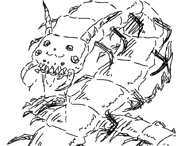 Pikachu centipede (oh god)