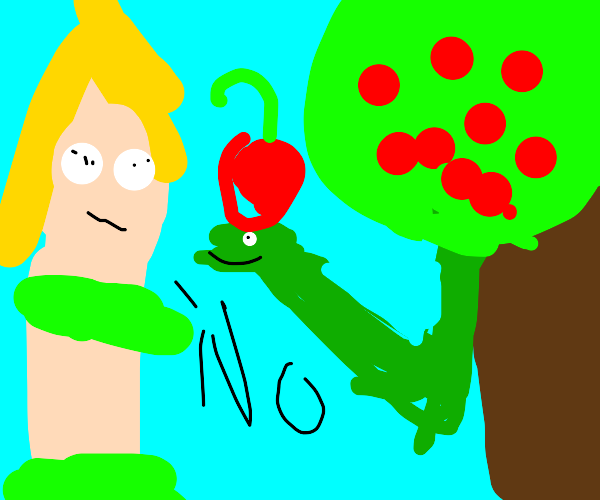 Alternate ending to Adam and Eve