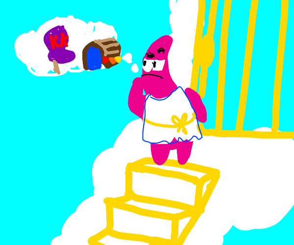 Patrick goes to heaven