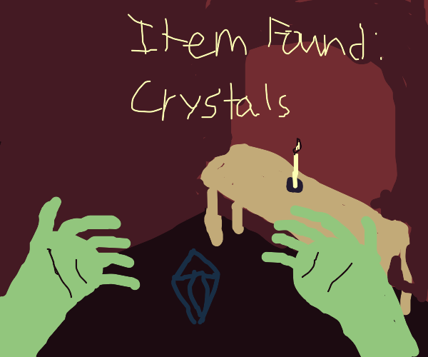New item:crystals