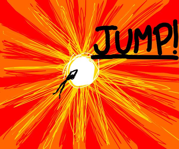 Jump! Into the Sun