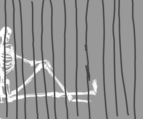 Skelaten war Jail