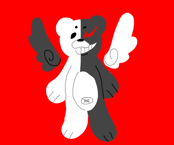 Monokuma with wings