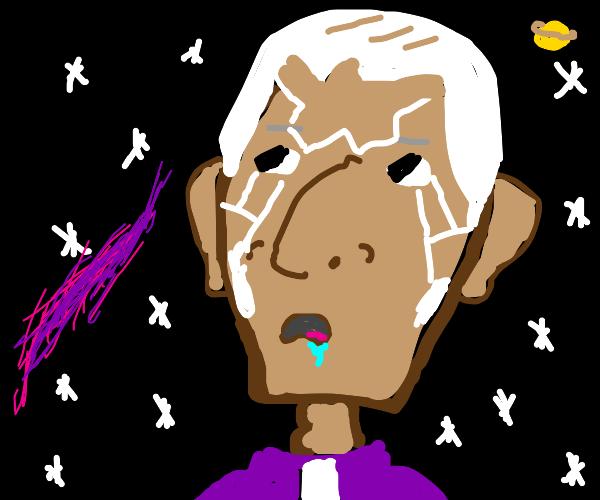 Enrico Pucci is lost in thoughts