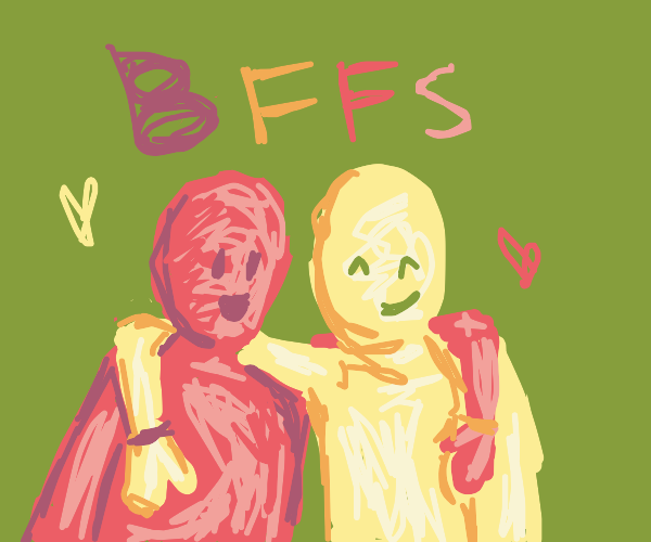 Red and Yellow are BFFs!