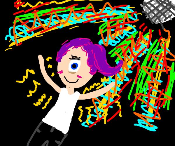 Disco dancin' Cyclops