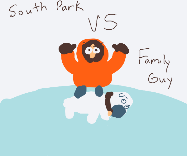 South park vs family guy (south park wins)