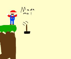 Mario Drops Le Hammer