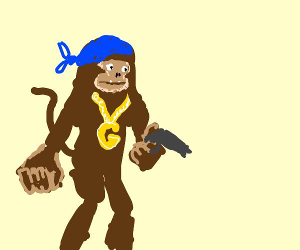 gansta monkey