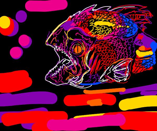 Dreamlike Piranha
