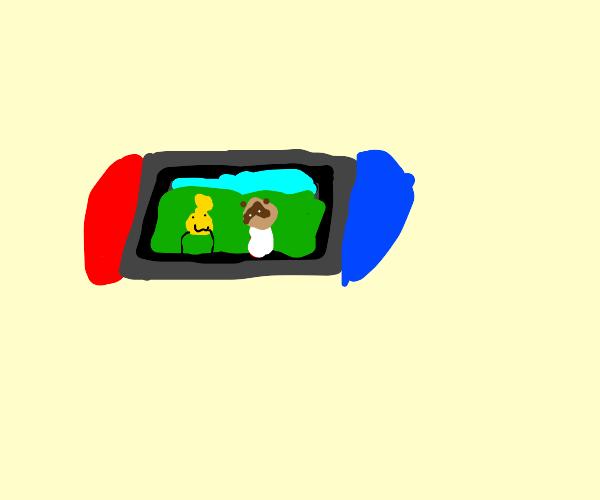 Animool krosing on switch