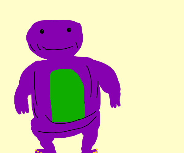 Barney gains weight