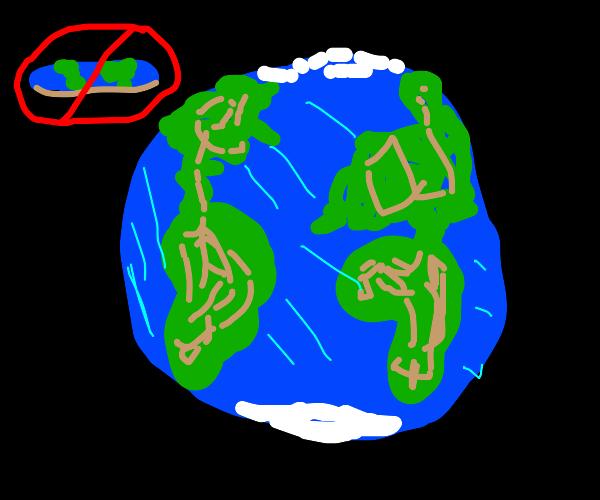 So isn't earth flat?