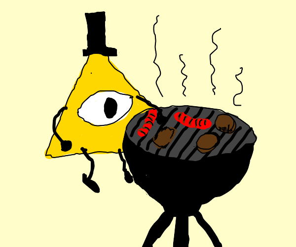 bill cipher barbeque