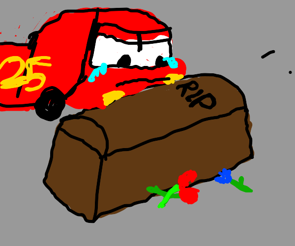 Lightning McQueen loses a loved one