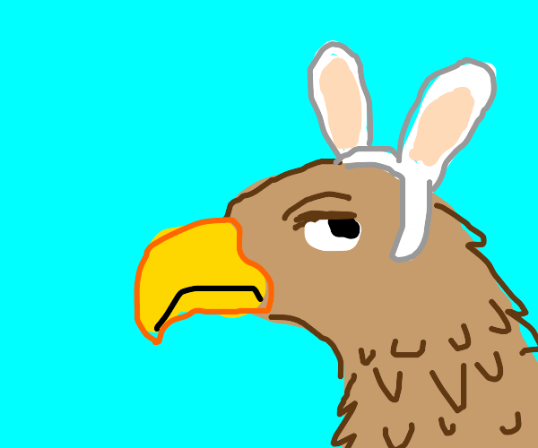 its actually an easter hawk, not a easter bun