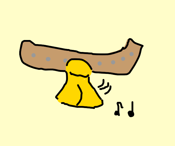 A cowbell