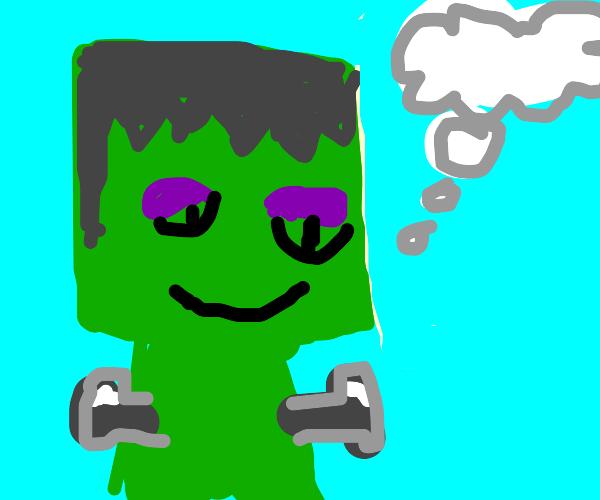 Frankenstein Daydreaming
