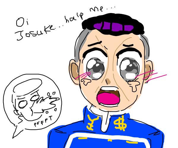 Oi josuke! I erased my artstyle! Please help!