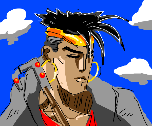 N'Doul is just Sitting there... Menacingly!