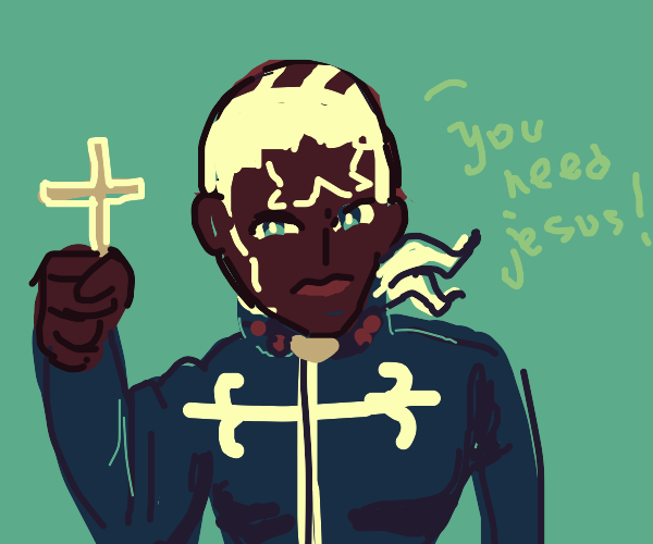 Pucci finds your lack of faith... disturbing.
