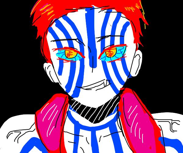 Anime bad guy