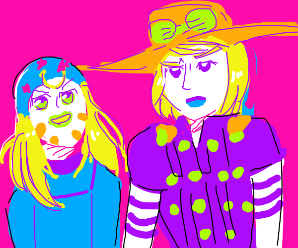 johnny and gyro outfit swap...bizarre