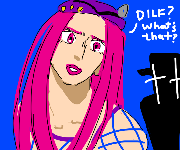 Jojo character asks what a DILF is