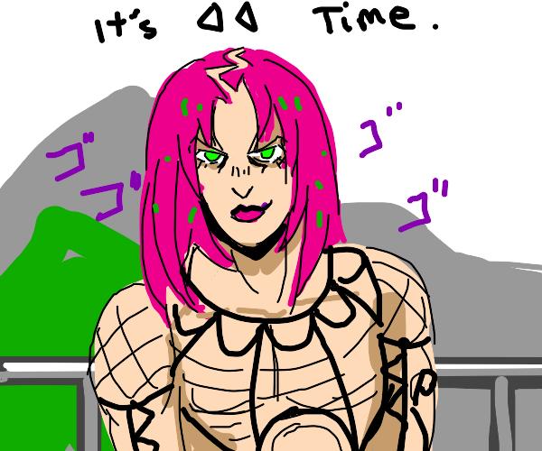 "Diavolo menacingly says ""it's rewind time"""