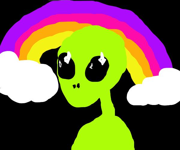rainbow ailen