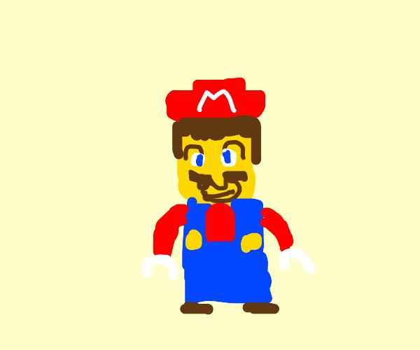 It's a him, LEGO Mario