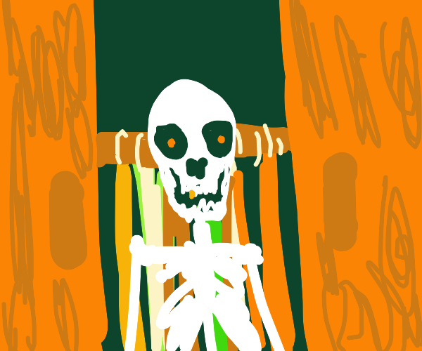 Skeleton in a closet (sentient skeleton)