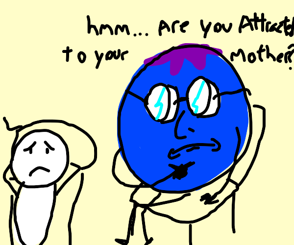 Blueberry is a Freudian psychologist
