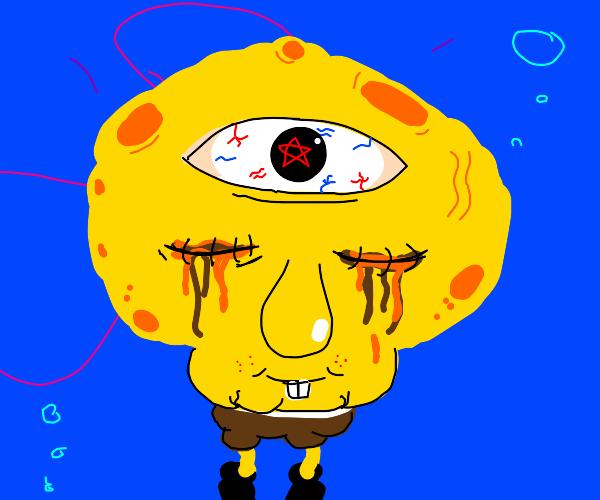 SpongeBob is psychic now.  It's disturbing.