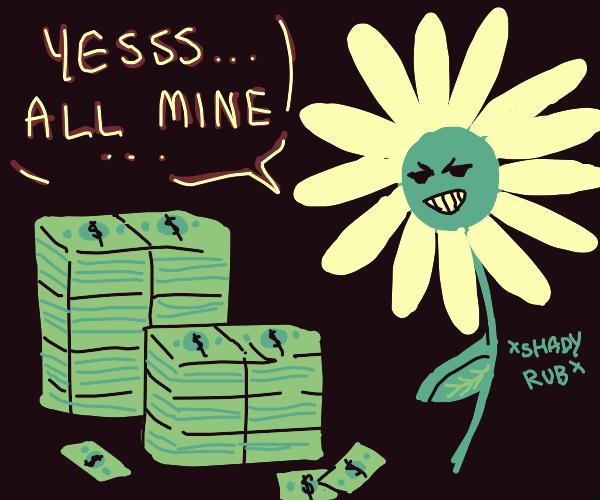 Greedy flower