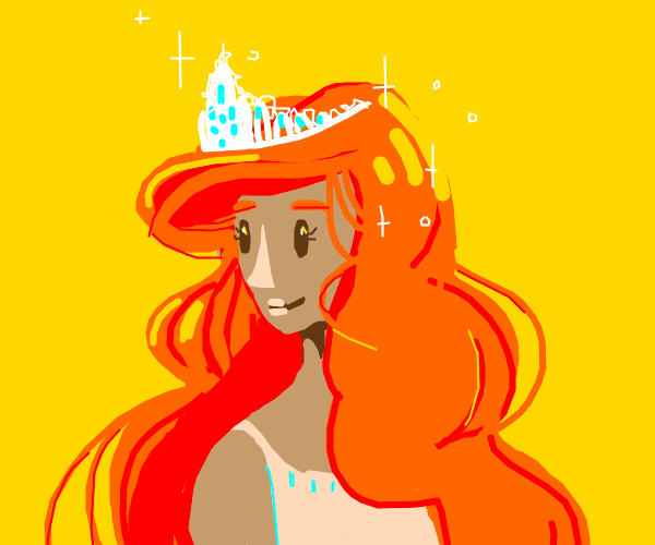 red haired princess