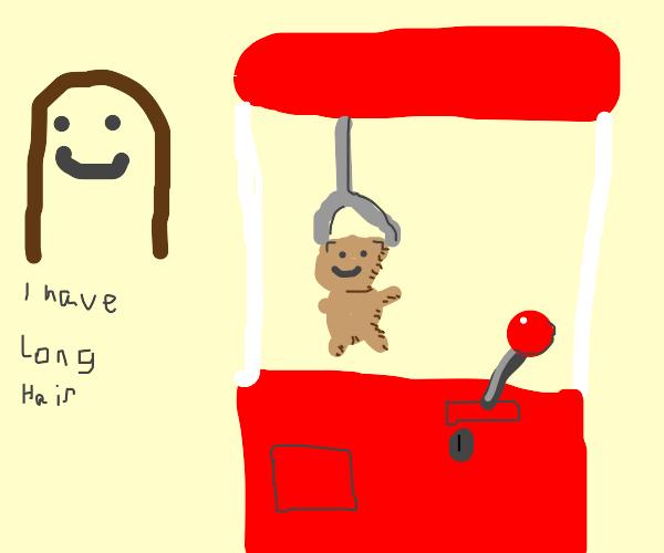 teddy bear claw machine