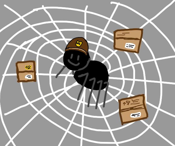 UPS Esential Worker Spider
