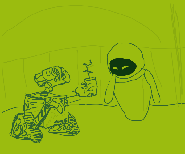 Eve and Wall-E